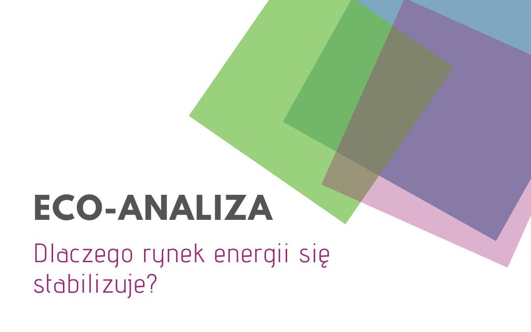 Rynek energii elektrycznej w Polsce – Eco Analiza