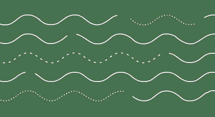 Różne typy linii