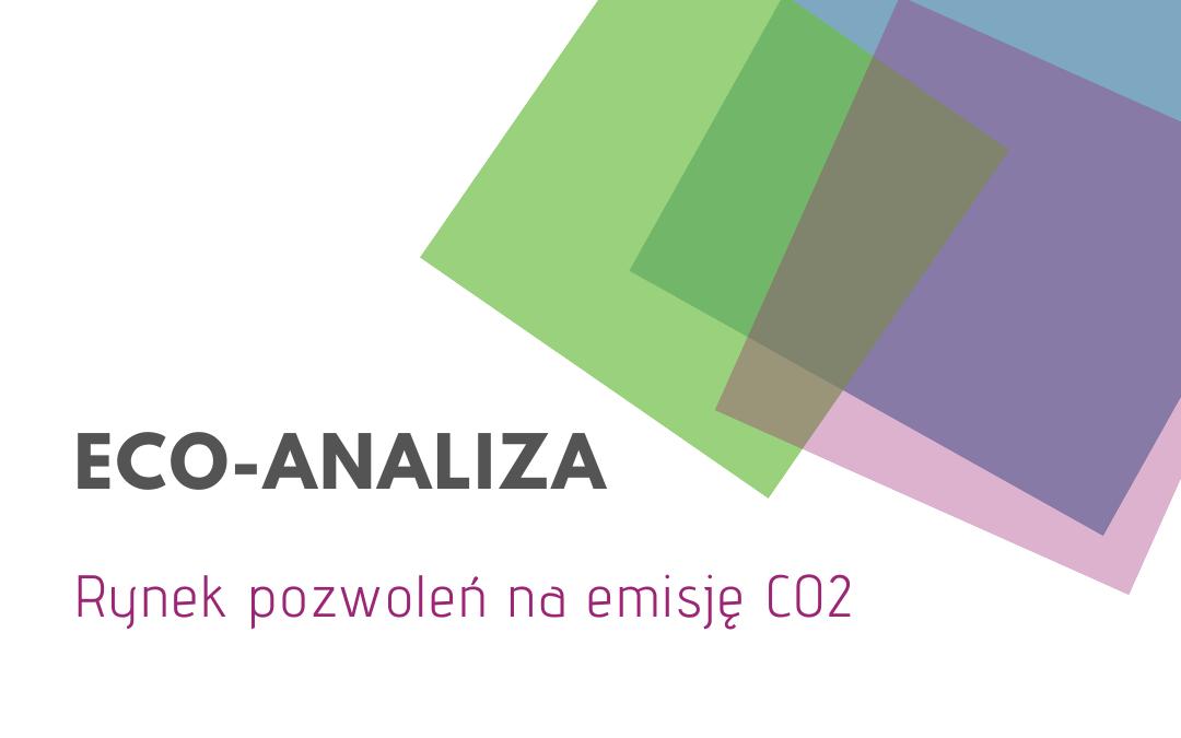 Pozwolenia na emisję CO2 – bieżąca analiza